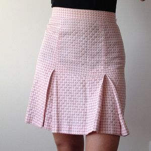 *Vintage* Le Château - Baby Pink Nailhead Skirt